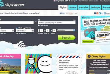 Skyscanner vola nel 2013 a +100% anche grazie alle app