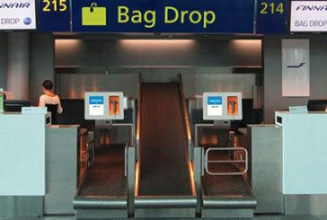 Finnair, nuovi bag drop all'aeroporto di Helsinki