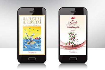 Ecco le app di 'VinidiPuglia'e 'La Puglia è Servita'
