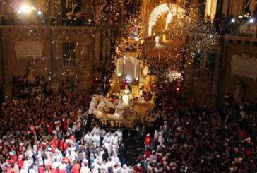 300 mila persone a Palermo per il Festino di Santa Rosalia