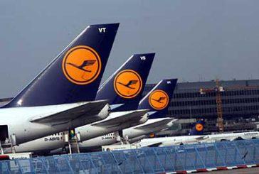 Lufthansa, oggi stop ai voli lungo raggio da e per Francoforte
