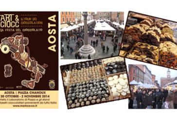 Al via ad Aosta la 7^ edizione di 'Art & Ciocc'