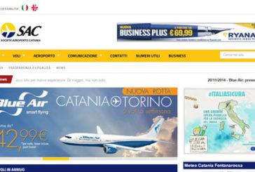 Fontanarossa, on line il nuovo sito internet della Sac