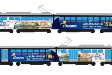 eDreams e Turismo Irlandese, la partnership corre sui tram di Milano