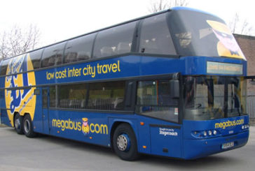 Megabus.com, venduti oltre 30 mila ticket nella prima settimana
