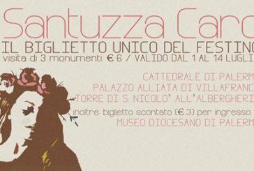 A Palermo arriva la Santuzza Card, il biglietto unico del Festino