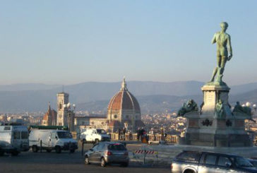 Firenze, nuova vita per Piazzale Michelangelo con fondi Starhotel e Art bonus