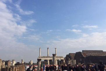 Renzi e Franceschini a Pompei per inaugurare sei domus restaurate
