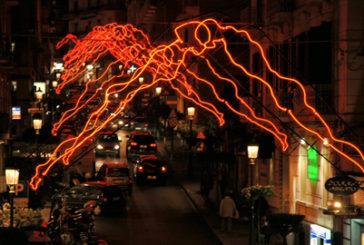 Le installazioni di 'Noi' illuminano Pescara Vecchia