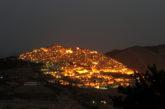 Notte bianca ai piedi del borgo di Gangi