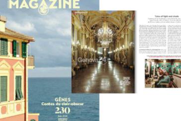 A giugno Genova è sulla copertina del magazine di Air France