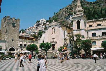 A Taormina impennata di turisti stranieri nei primi 4 mesi del 2016