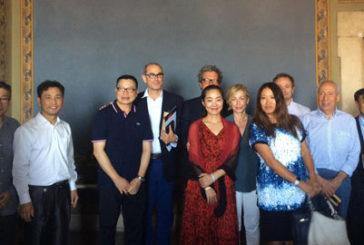 Bianchi incontra artisti cinesi: Italia e Cina superpotenze culturali