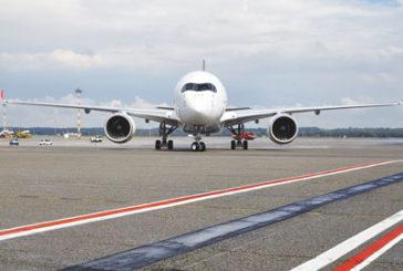 Atterra a Malpensa il nuovo Airbus 350 XWB di LATAM Airlines