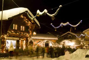 Spettacoli sul ghiaccio, concerti e luminarie  nell'inverno di Courmayeur