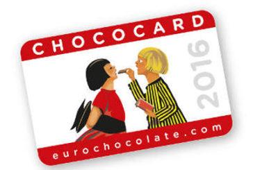 Eurochocolate premia i vincitori concorso ChocoCard 2016
