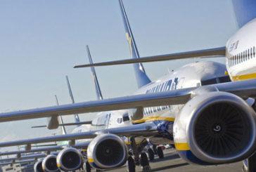 Da marzo a Napoli 17 nuove rotte con Ryanair