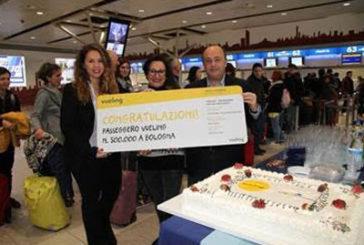 Vueling festeggia i 500.000 pax all'aeroporto di Bologna