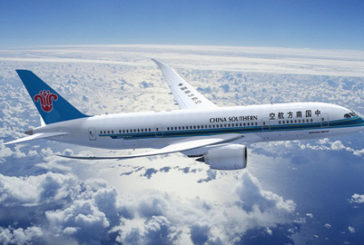 China Southern Airlines, +7,45% ricavi netti in 2019