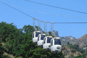 Rinviata la riapertura della funivia Taormina-Mazzarò