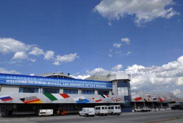 Anche all'aeroporto Rimini stop a tutti i voli fino 3 aprile