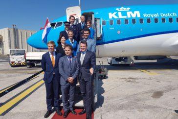 Prima volta a Catania per Klm e da luglio voli giornalieri per Amsterdam