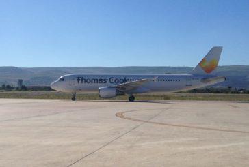 A Comiso atterra il primo volo da Birmingham di Thomas Cook