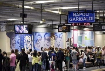 Street art dedicata a Totò alla stazione Circumvesuviana di Napoli