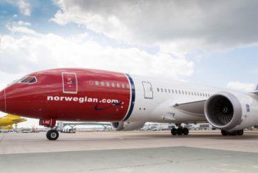 Da novembre al via i voli low cost Roma-Usa di Norwegian