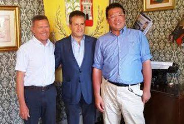 Ispettori dell'Unesco Global Geopark in visita a Petralia Soprana