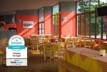 Trentino protagonista della top 10 dei Campeggi o Villaggi con i migliori ristoranti