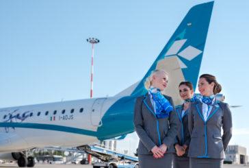 Ad ottobre Recruiting Day di Air Dolomiti per nuovi cabin crew