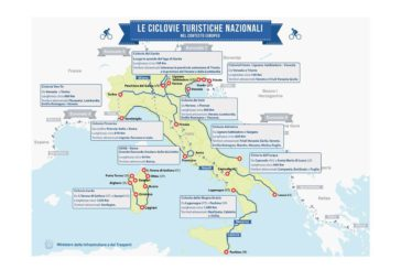 Al via iter per altre tre ciclovie turistiche: protocolli Mit-Mibact e Regioni