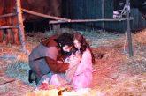 A Gangi oltre sei mila spettatori per il presepe vivente sotto la neve