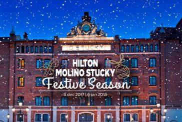 Natale nella magia di Venezia all'Hilton Molino Stucky