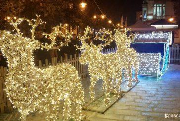 Pescara si accende per Natale con le 'Luci d'Artista'