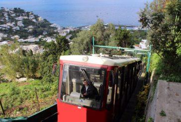 Riapre la funicolare di Capri dopo pausa invernale e restyling