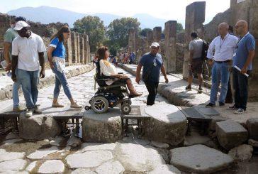 'Pompei per tutti', ampliata l'offerta per i disabili e lancio braccialetti Smart@Pompei