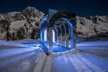 Qc Terme porta l'arte sulle piste di Courmayeur Mont Blanc