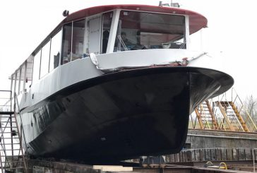 City Sightseeing, varo tecnico del battello per tour in laguna Venezia