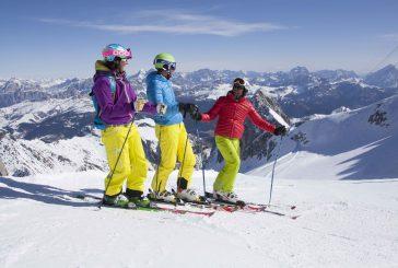 Ski & Wine' sulle piste della Ski area Arabba-Marmolada