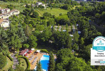 Il Camping Siena Colleverde guida la Top 10 dei Campeggi e Villaggi delle città d'arte