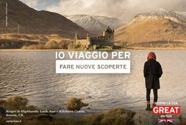 VisitBritain lancia nuova campagna 'Io viaggio per…' per il mercato italiano