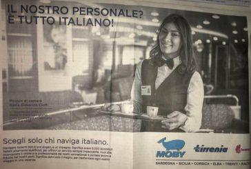 Solo personale italiano su Tirrenia-Moby, scoppia polemica sui social
