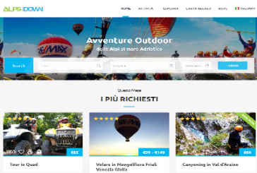 Alpsndown.com, nuovo portale del turismo attivo dalle Alpi al Mare Adriatico