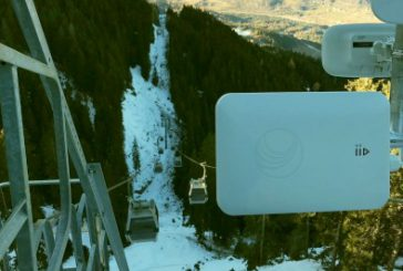 Il wi-fi free arriva anche nel percorso della funivia del Cermis