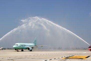 Partito il volo inaugurale tra Lanarka e Verona di Cyprus Airways