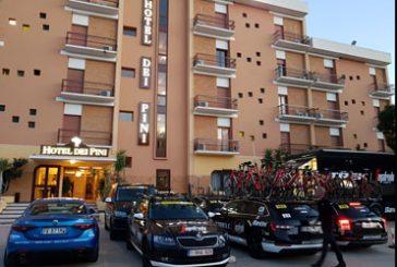 L'Hotel dei Pini di Porto Empedocle tappa del Giro d'Italia