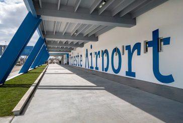 Trieste Airport, l'aeroporto di Trieste resterà chiuso fino al 25 marzo