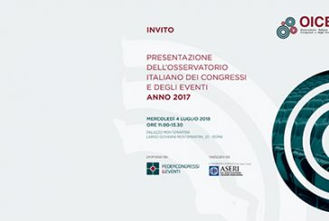 A Roma la presentazione del 4° Osservatorio Italiano dei Congressi e degli Eventi